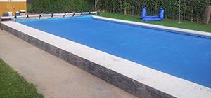 Fabricacion e instalacion de lonas de piscinas en Madrid.