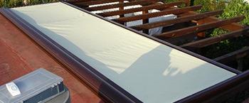 Instalacion de toldos verandas en Madrid.