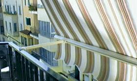 Instalacion de toldos verticales stor en Madrid.